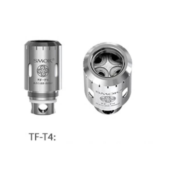Smok TF-T4 Quad Clapton Replacement Coils (5 Pack) - WholesaleVapor.com