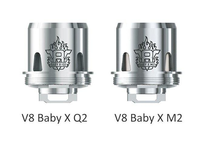 Smok TFV8 X-Baby Coils 2 Styles (3 Pack) - Vapor King