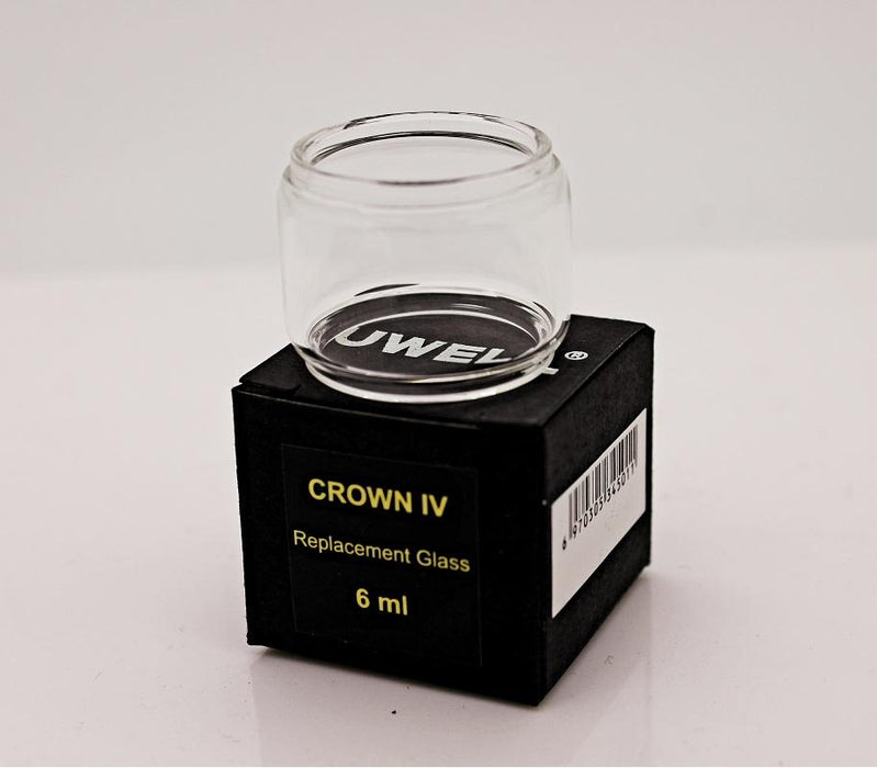 Uwell Crown 4 (IV) Bulb Glass Tube (6ml) - Vapor King