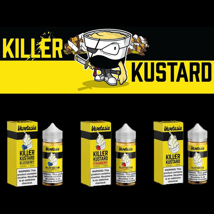 Vapetasia Killer Kustard 100ml Eliquid (All Flavors) - Vapor King