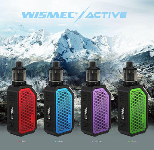 Wismec Active w/ Amor NSE Kit - Vapor King
