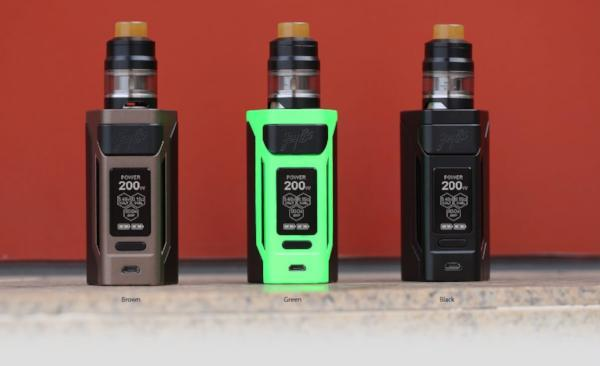 Wismec RX2 20700 + Gnome Kit - Vapor King