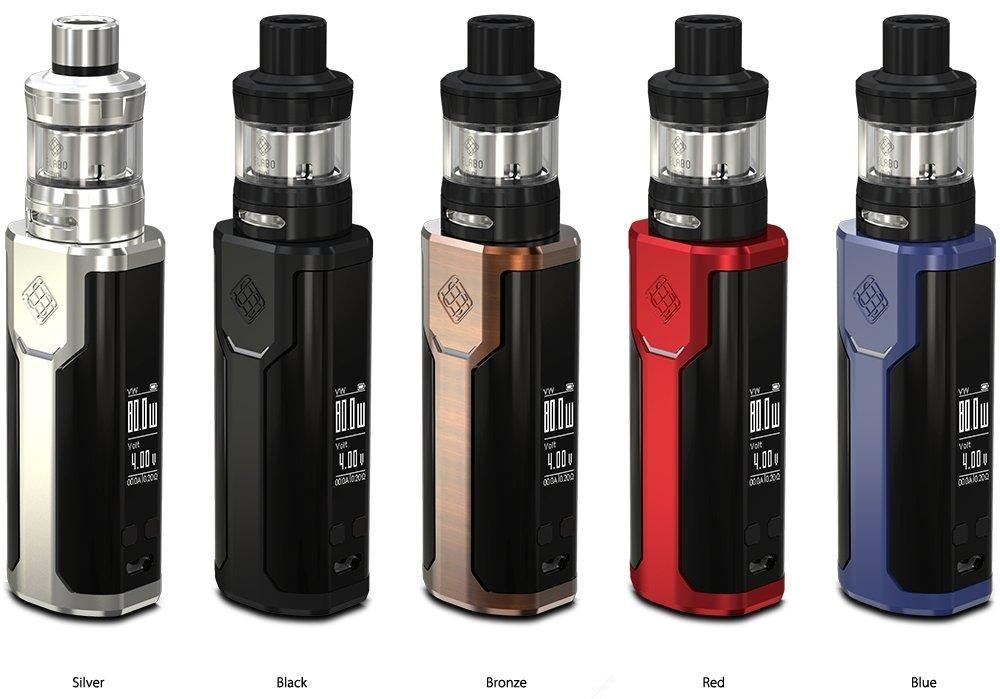 Wismec Sinuous P80 Starter kit - Vapor King