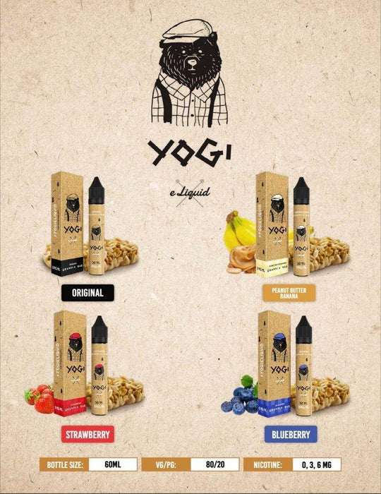 Yogi Eliquid - 60ml - Vapor King