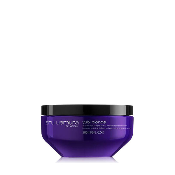 Yūbi blonde anti-brass purple hair mask