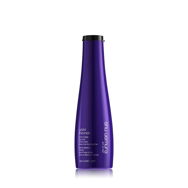 Yūbi blonde anti-brass purple shampoo