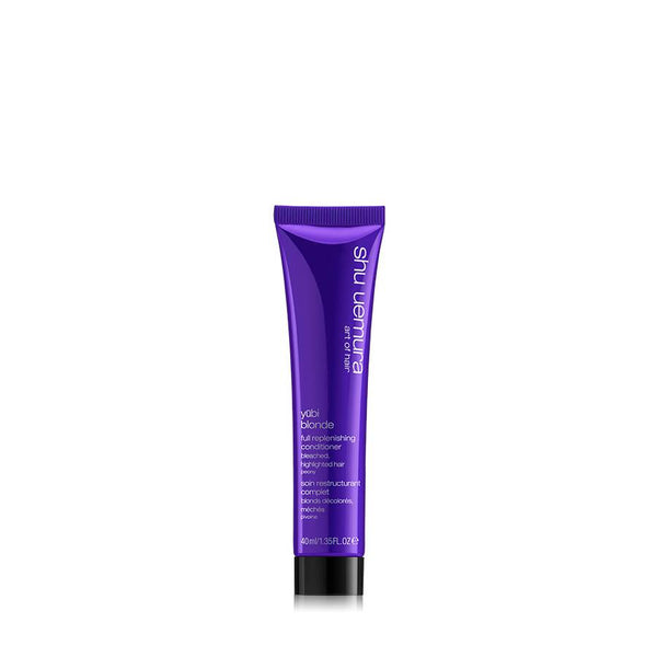 Yūbi blonde replenishing travel size conditioner