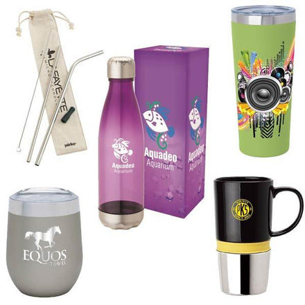 Custom drink-ware products with your logo (promotional product)