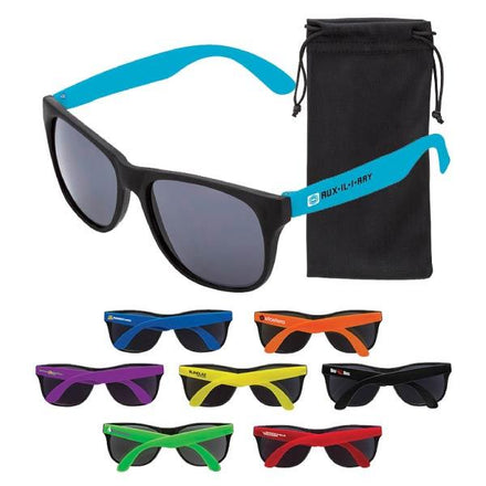 Custom sunglasses with your logo (promotional product)