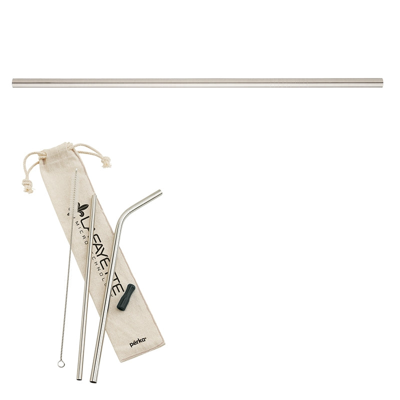 5-Piece Stainless Steel Straw Set