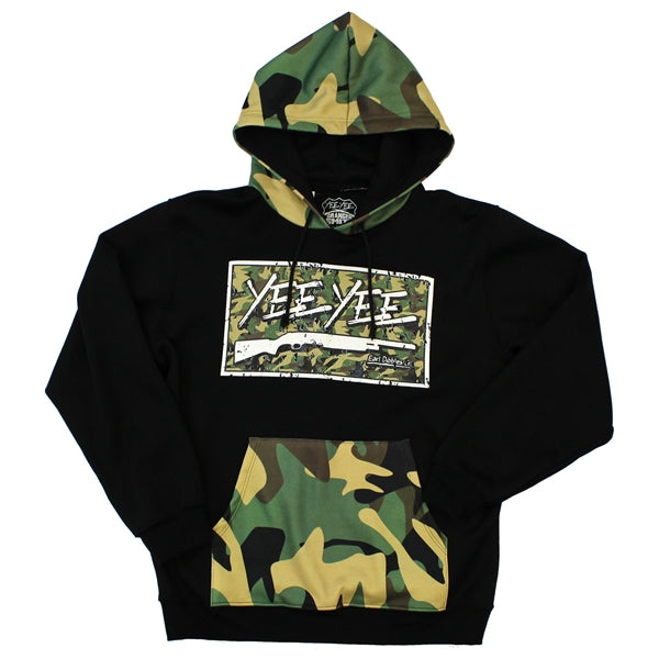 Custom All-Over Printed Cut & Sew Unisex Pullover Hoodie