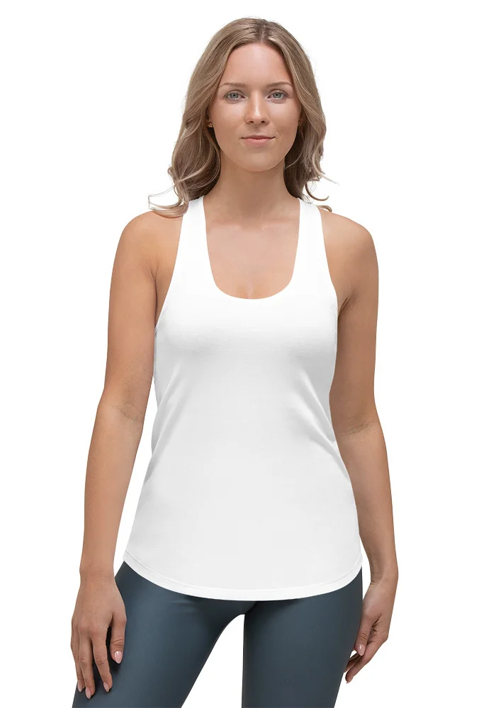 Custom All-Over Printed Cut & Sew Women's Racerback Tank