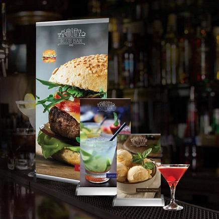 Tabletop Retractable Banner Displays