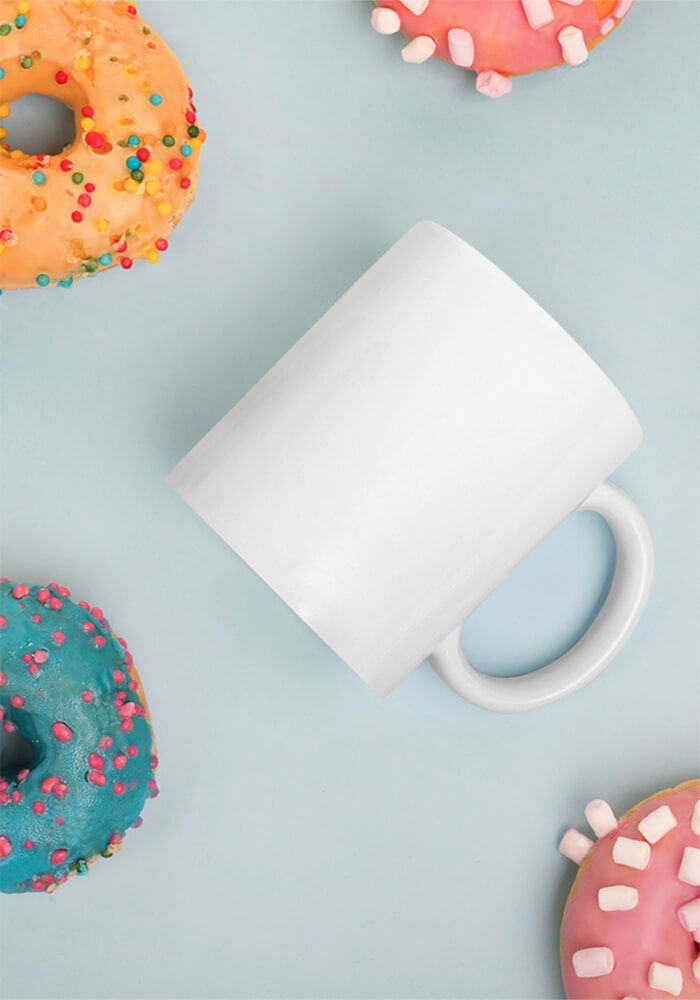 11oz White Glossy Mug - Custom Printed