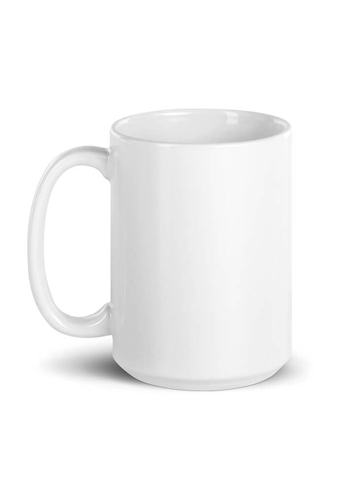 15oz White Glossy Mug - Custom Printed