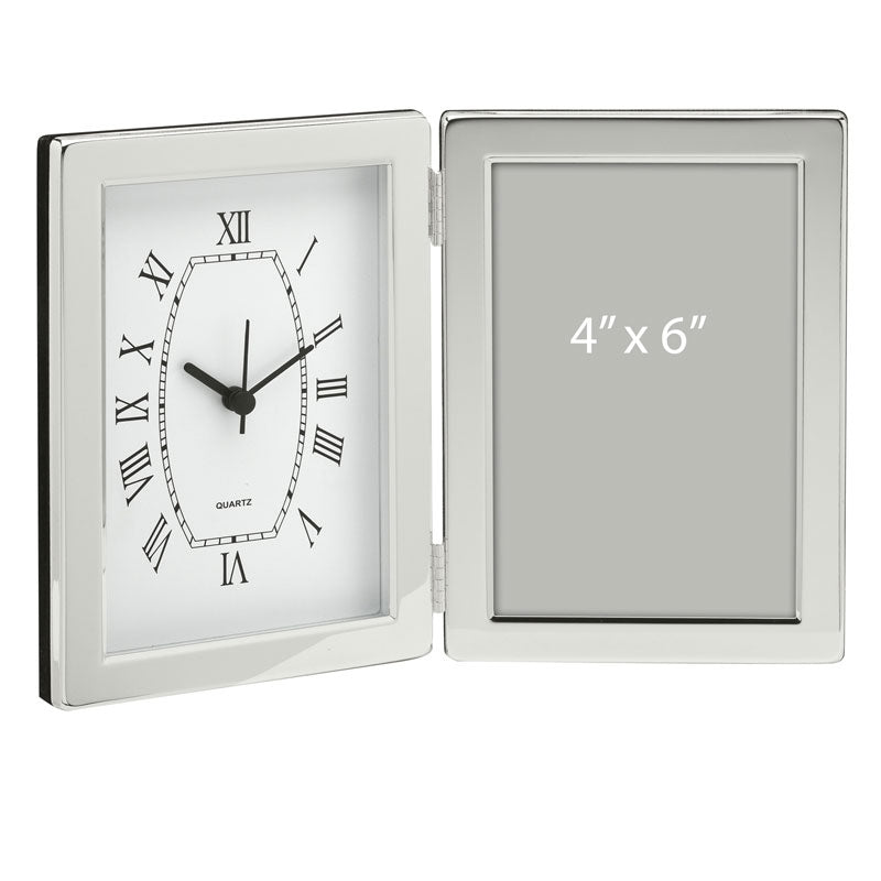 Jadis Desk Clock Photo Frame