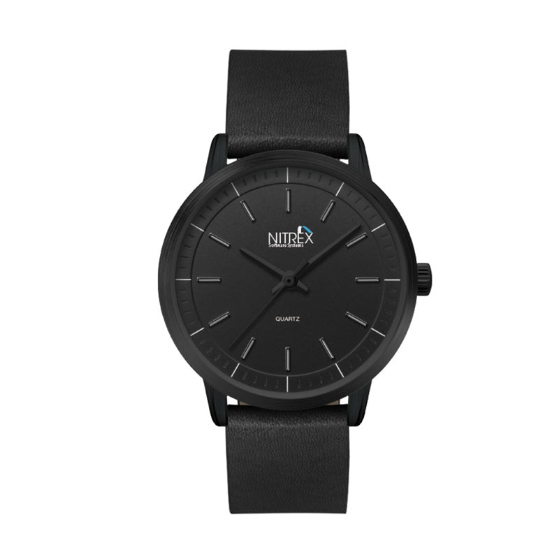 Ladies 30.5mm Black Metal Case Watch