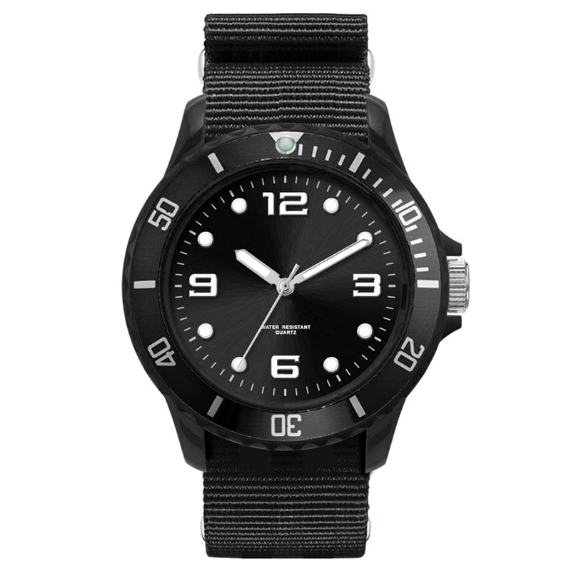 Unisex Sport Watch with NATO Strap