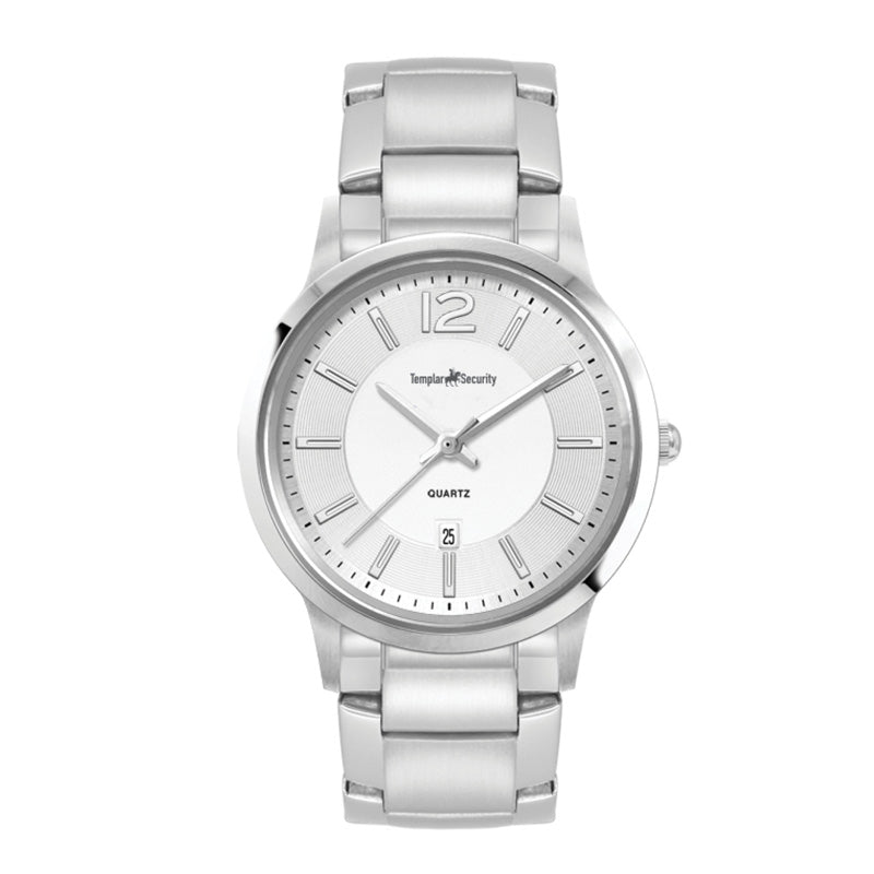 Womens Silver Stainless Bracelet Watch