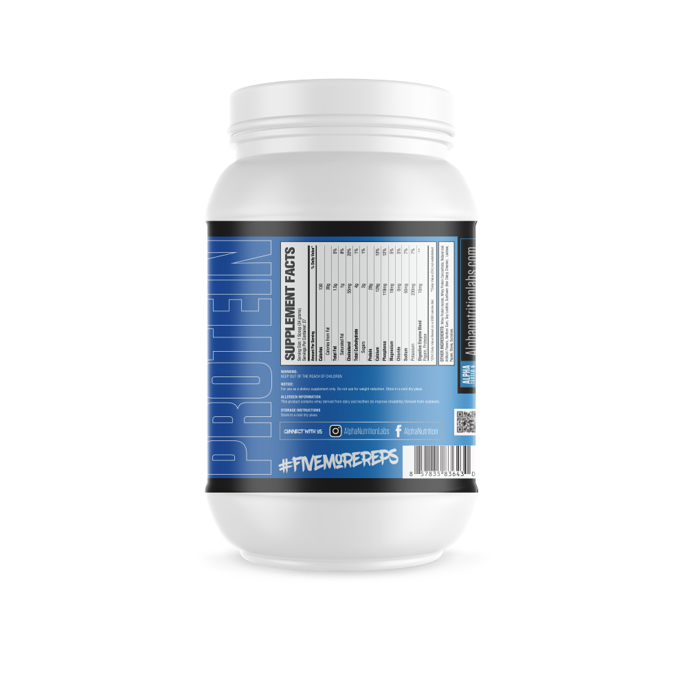 Alpha Isolate Protein - Collectors Edition - 2lbs