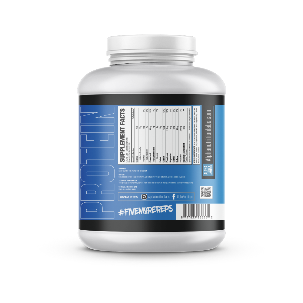 Alpha Isolate Protein - Collectors Edition - 5lbs