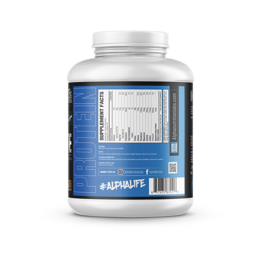 Alpha Isolate Protein - 5lbs