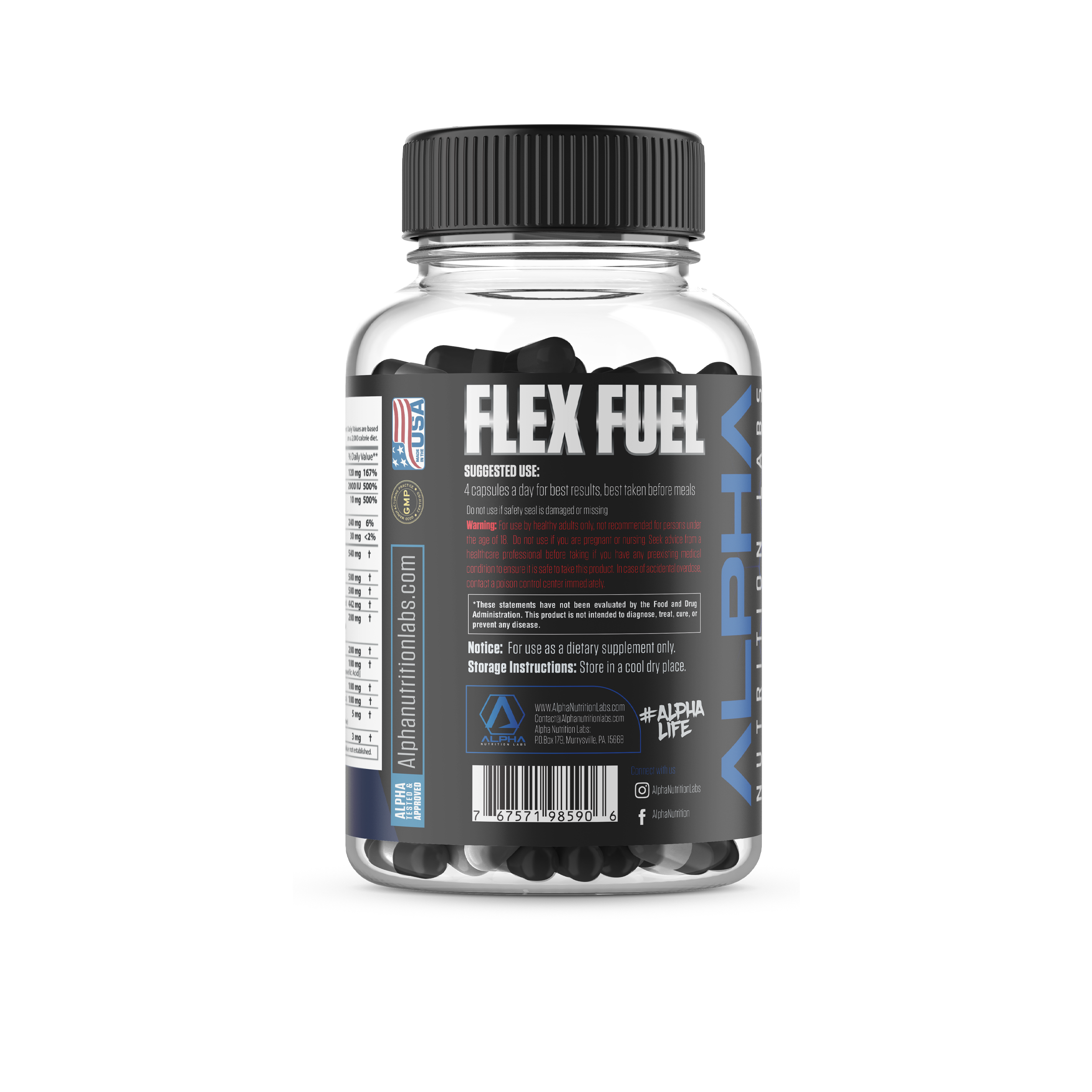 Flex Fuel - Joint Formula & Hair, Skin and Nails