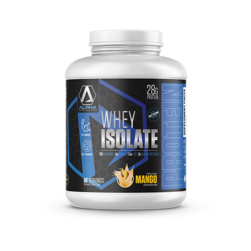 Alpha Isolate Protein
