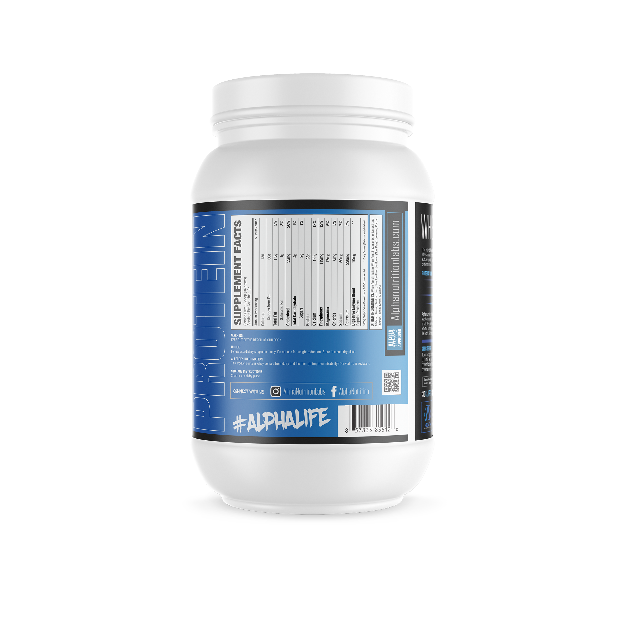 Alpha Isolate Protein - 2lbs