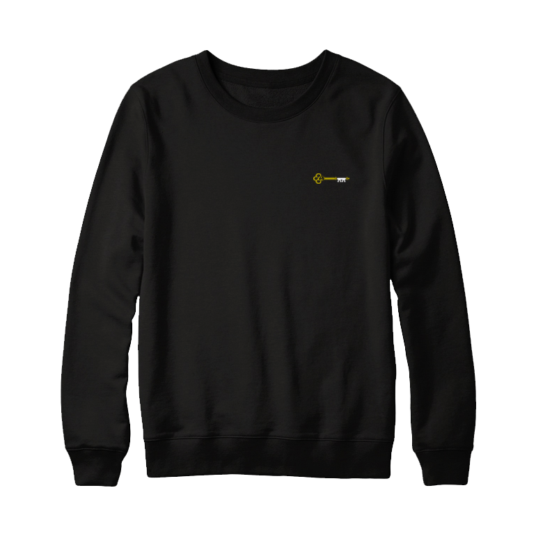 Gold Quarter Key Crewneck