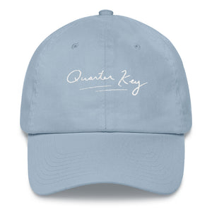 The Signature Quarter Key Hat White (4 Colors Available)