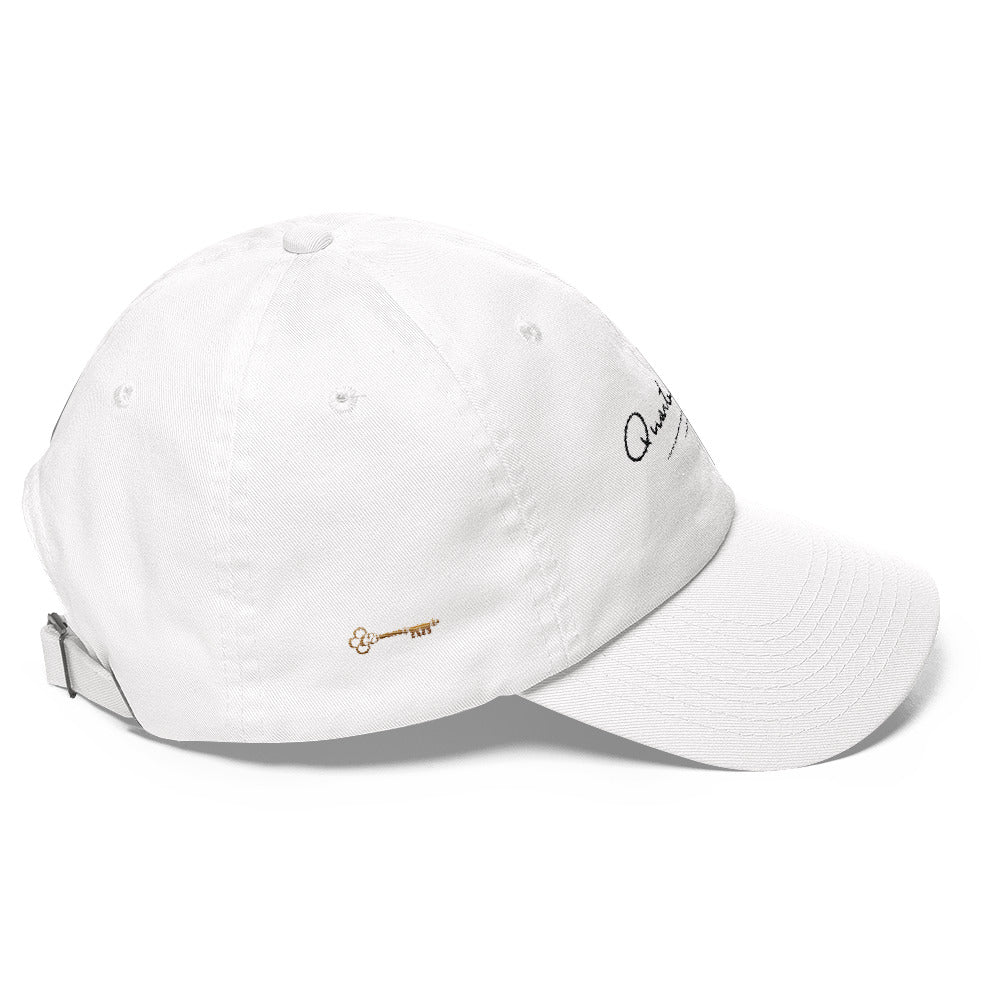 Key & Signature Hat - White Edition