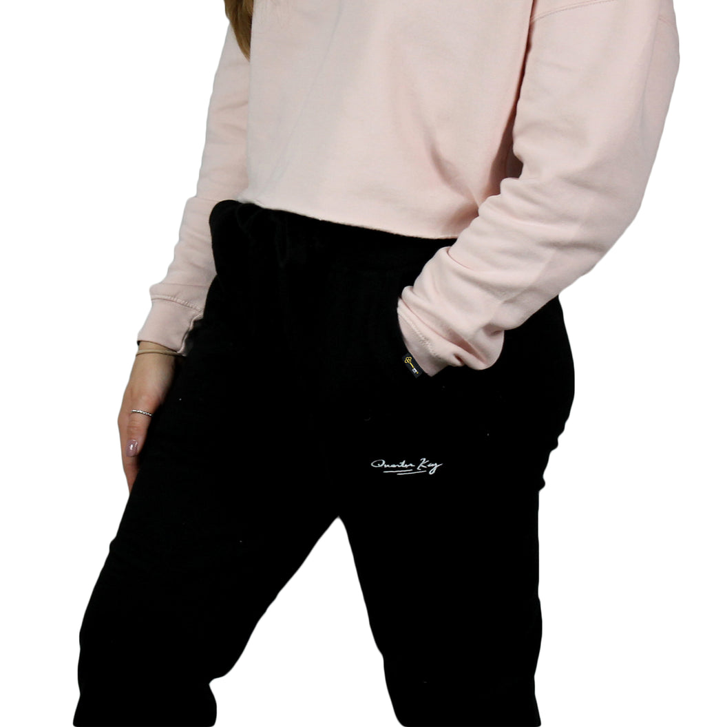 Signature Fleece Joggers - Black