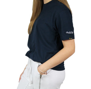 The Luxe T-Shirt Navy