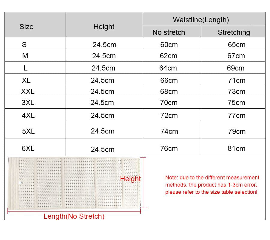 Size Chart: Hourglass Band