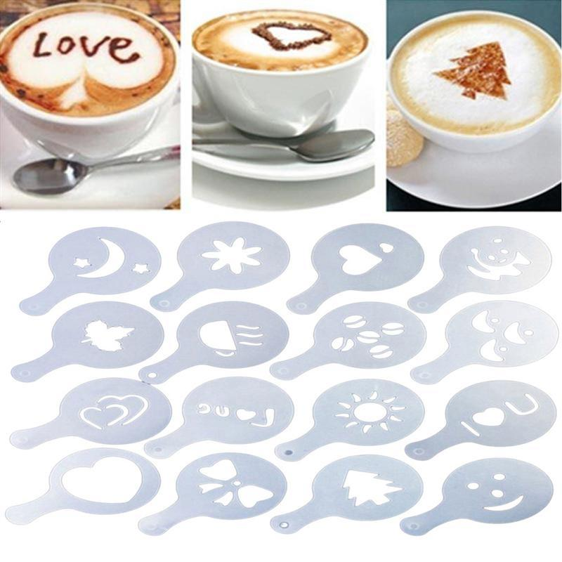 Coffee Art Stencils - HYGO Shop
