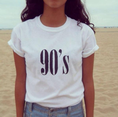 90's Letters T-Shirt - HYGO Shop