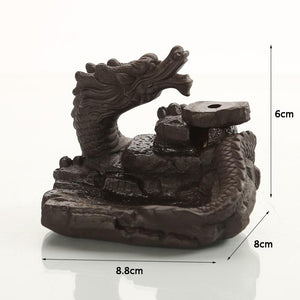 Flaming Incense Dragon Burner