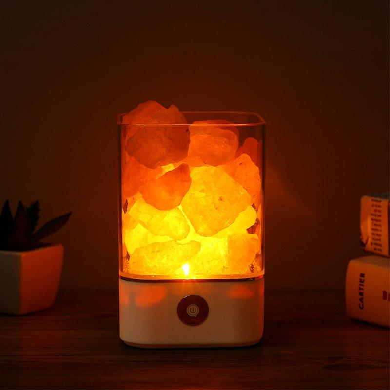 Himalayan Salt Lamp - Multi Color - HYGO Shop
