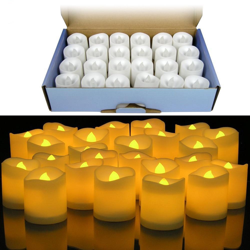 Flameless Votive Love Candles