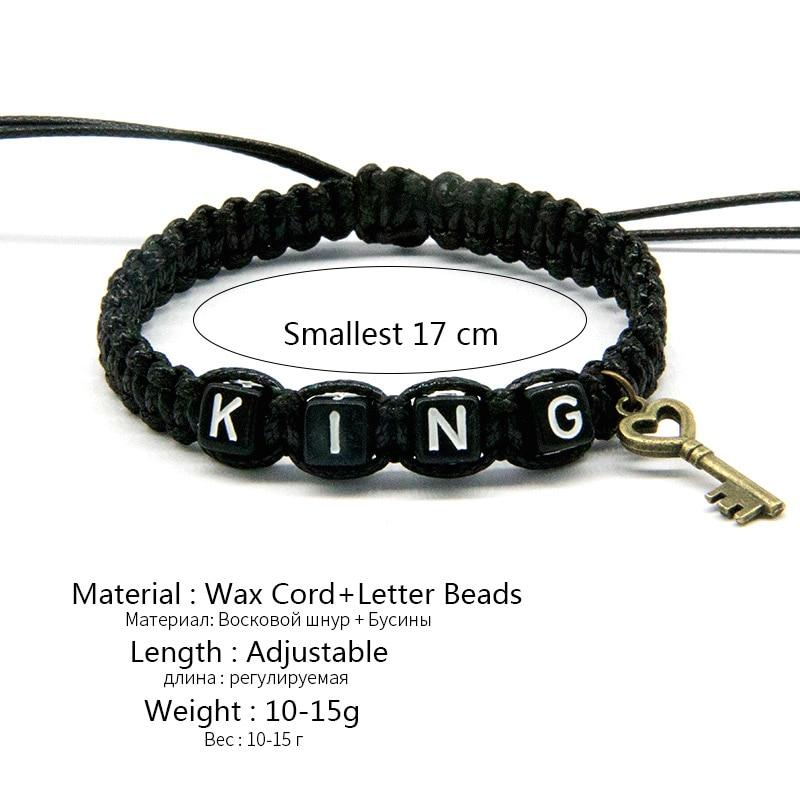 King And Queen Rope Bracelets - HYGO Shop