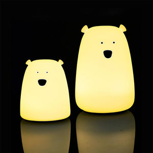 Bear Silicone LED Night Light - HYGO Shop