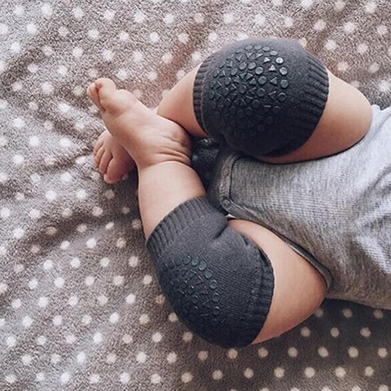 Quality Fashion New Baby Crawling Knee Pads Safety Anti-slip Walking Leg Elbow Protector Excellent In