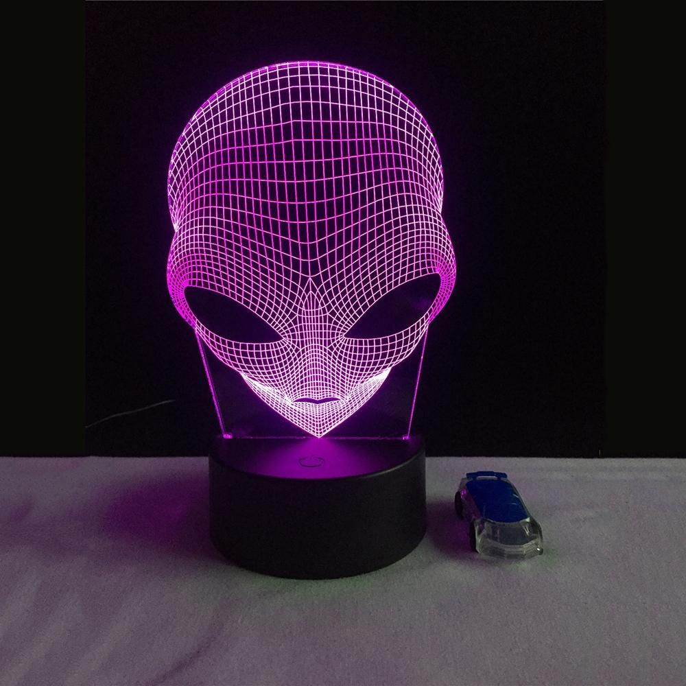 Alien 3D LED Light - HYGO Shop