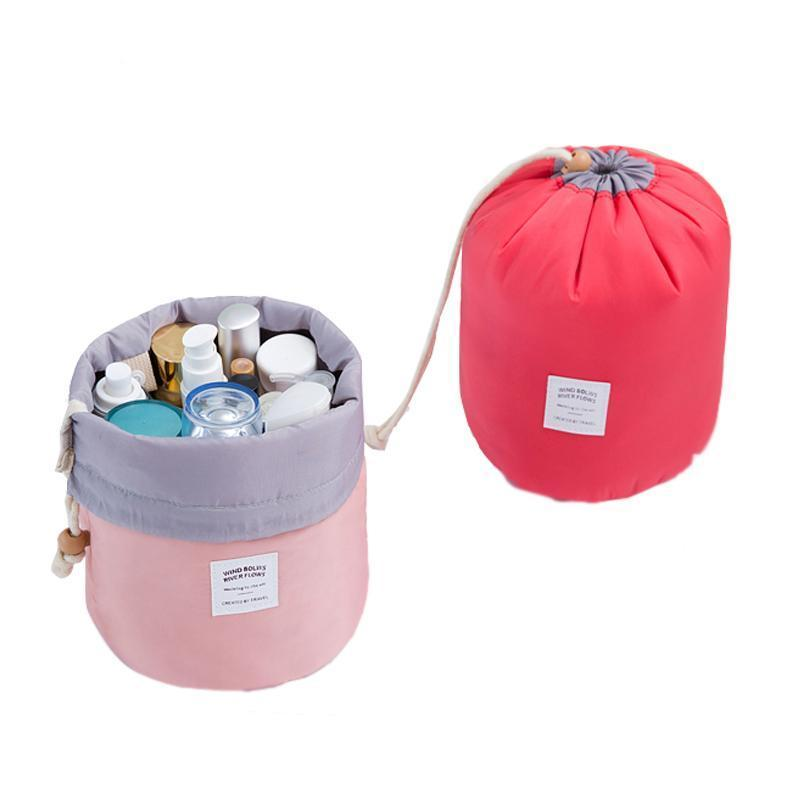Drawstring Barrel Cosmetic Bag - HYGO Shop
