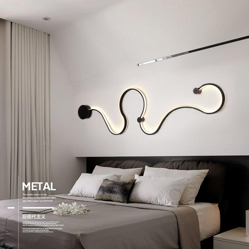 Acrylic Modern LED Wall Light - HYGO Shop