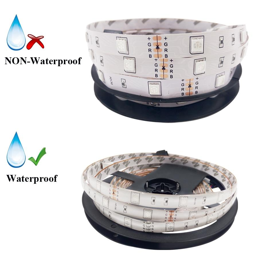 Remote-Controlled LED Strip Light