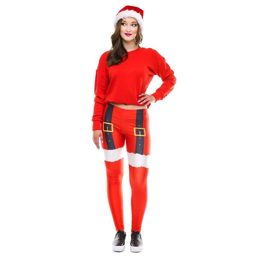 Crazy Christmas Leggings - HYGO Shop