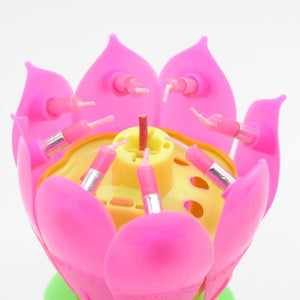 Birthday Blossom Flower Candle