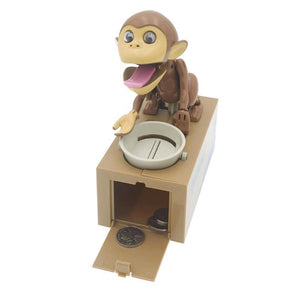 Monkey Business Coin Bank